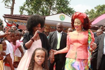 Bams et Chantal Biya