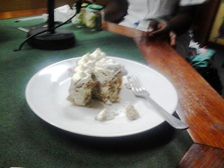 Gâteau africain au mais