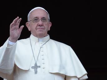 Le Pape François, ce 25 Décembre