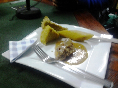 Plantain et Sauce Ndo'oh