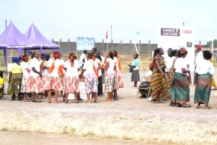 Un groupe de danse