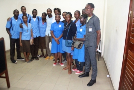 Collège Vogt et Lycée de Mballa II, à la maison de la radio à Yaoundé, le 16 Mars 2014.
