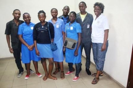 Candidats du Lycée de Mballa II