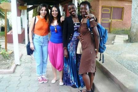 Manon, Myriem, Chantal et Em-A