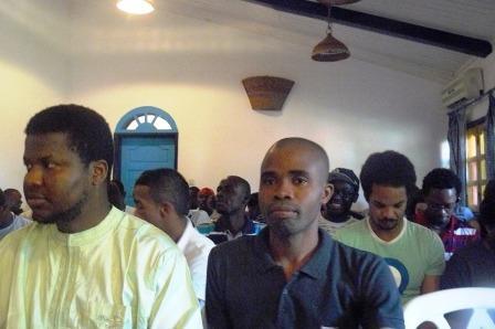 Blogueurs en formation à Abidjan