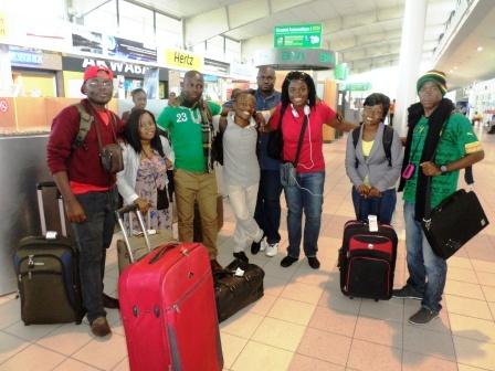 Equipe Cameroun Mondoblog 2014