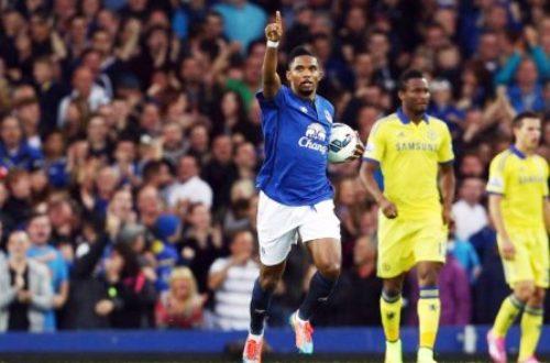 Article : Désolé Eto'o, mais je ne supporterai pas Everton.