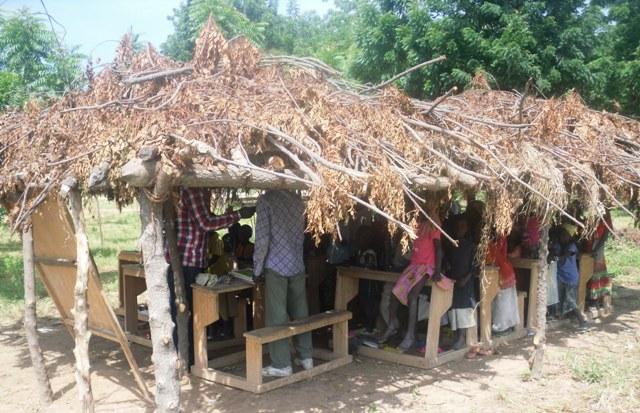 Salle du CP, Ecole Publique de Ngoumlaye