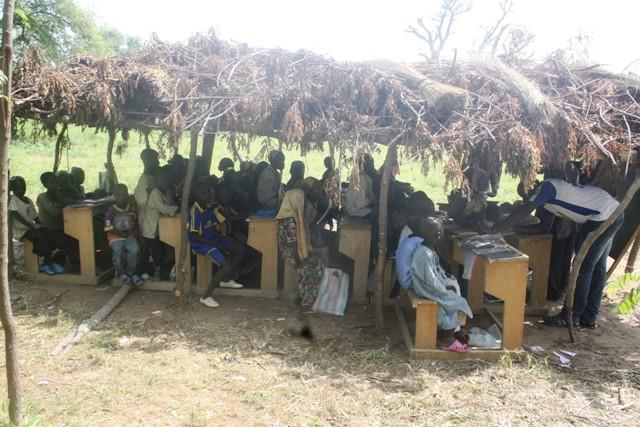 Salle du Cours Elémentaire, Ecole Publique de Ngoumlaye