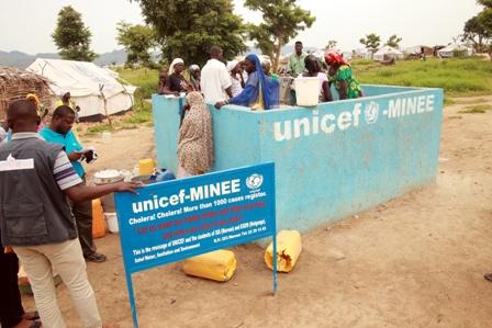 Forage Unicef à Minauwao