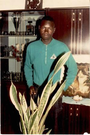 Moi, dans la maison familiale en 1993.