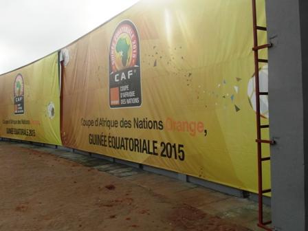 Entrée du Stade Ebibeyin
