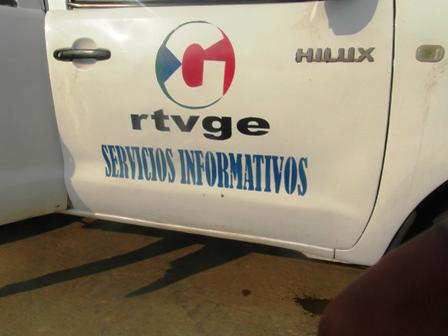 Voiture de la RTVGE