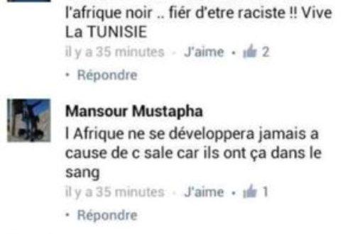 Article : Dégoûtant, ce racisme maghrébin sur Internet.