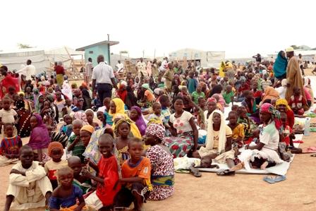 Un des Camps de Réfugiés au Cameroun