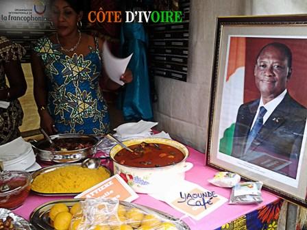 Stand ivoirien,Foire gastronomique de la Francophonie 2015