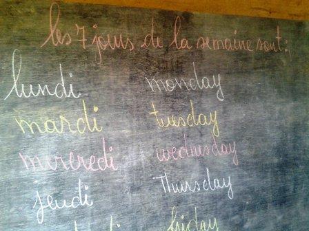 Tableau bilingue