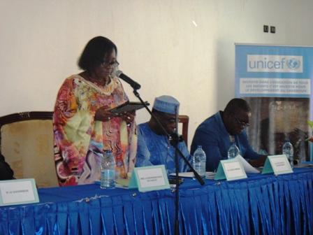 Félicité Tchibindat, Représentante Unicef au Cameroun