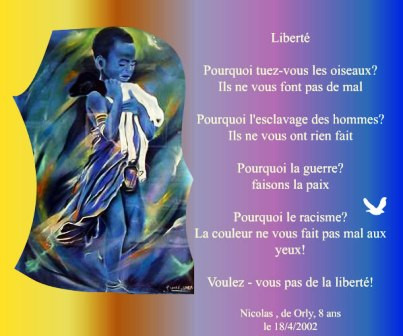 Liberté selon Nicolas