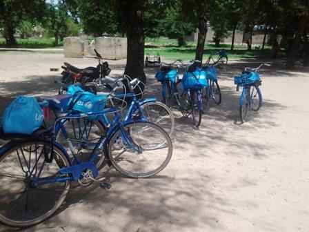 Bicyclettes des ASC de Touloum