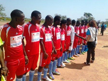 Présentation des joueurs du FC Diallo