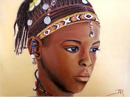 Fille africaine 2