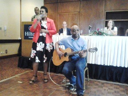 Coco Mbassi et Serge Ngando Mpondo