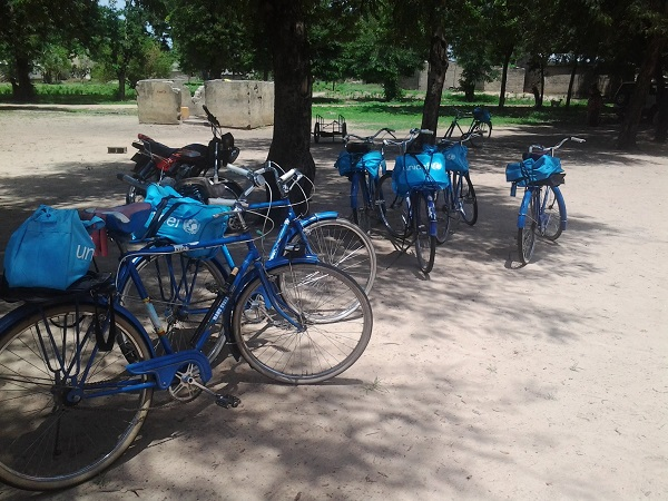 Bicyclettes des ASC