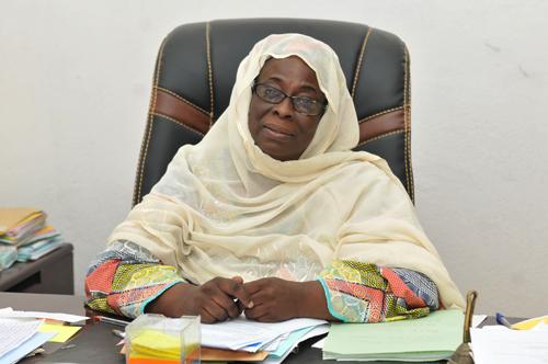 Madame Abdou Djenabou Oumarou, Sous-Préfet de Gazawa.