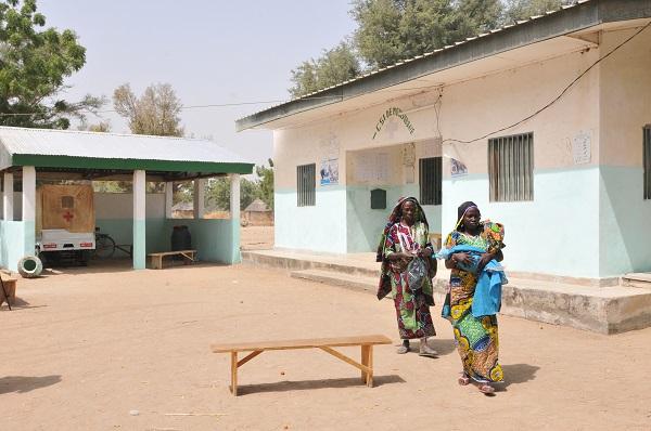 Retour de consultation au Centre Médical Intégré de Moulvoudaye