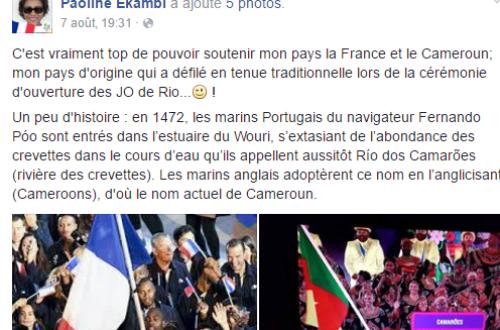 Article : Rio 2016 : Ces noms camerounais qui évoluent pour la France