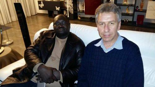 Avec Philippe