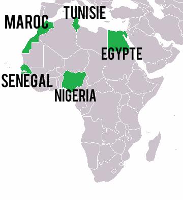 carte-afrique-coupe-monde-football-2018