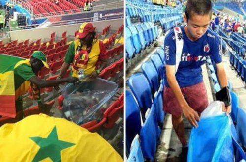 Article : Sénégal et Japon : Le match de la propreté.