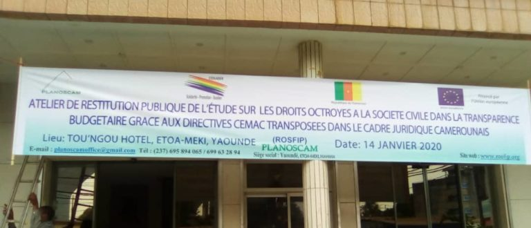 Article : Docteur Ondoua Ekobena : « La société civile doit contrôler les finances publiques »